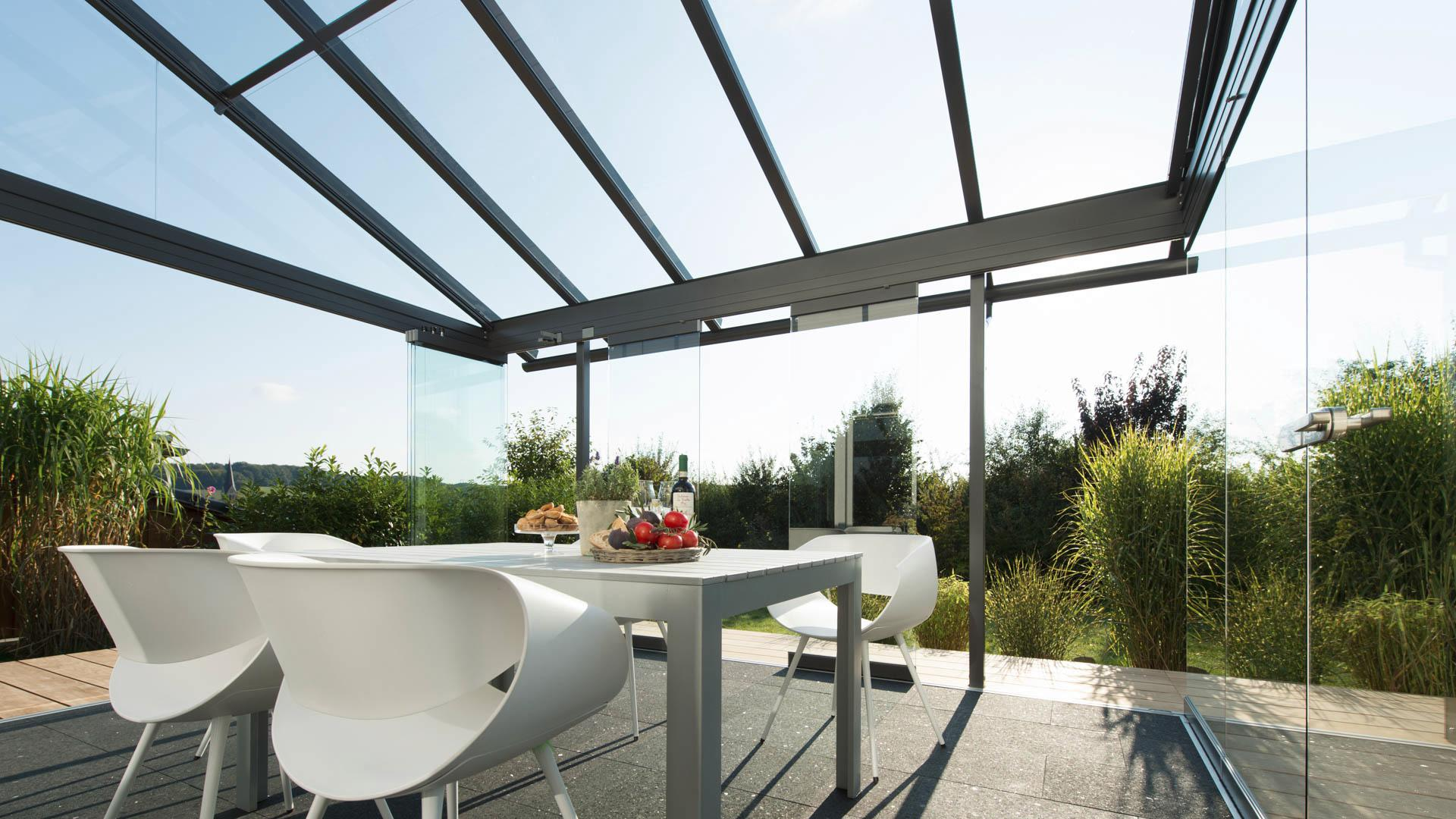 Solarlux Glashaus