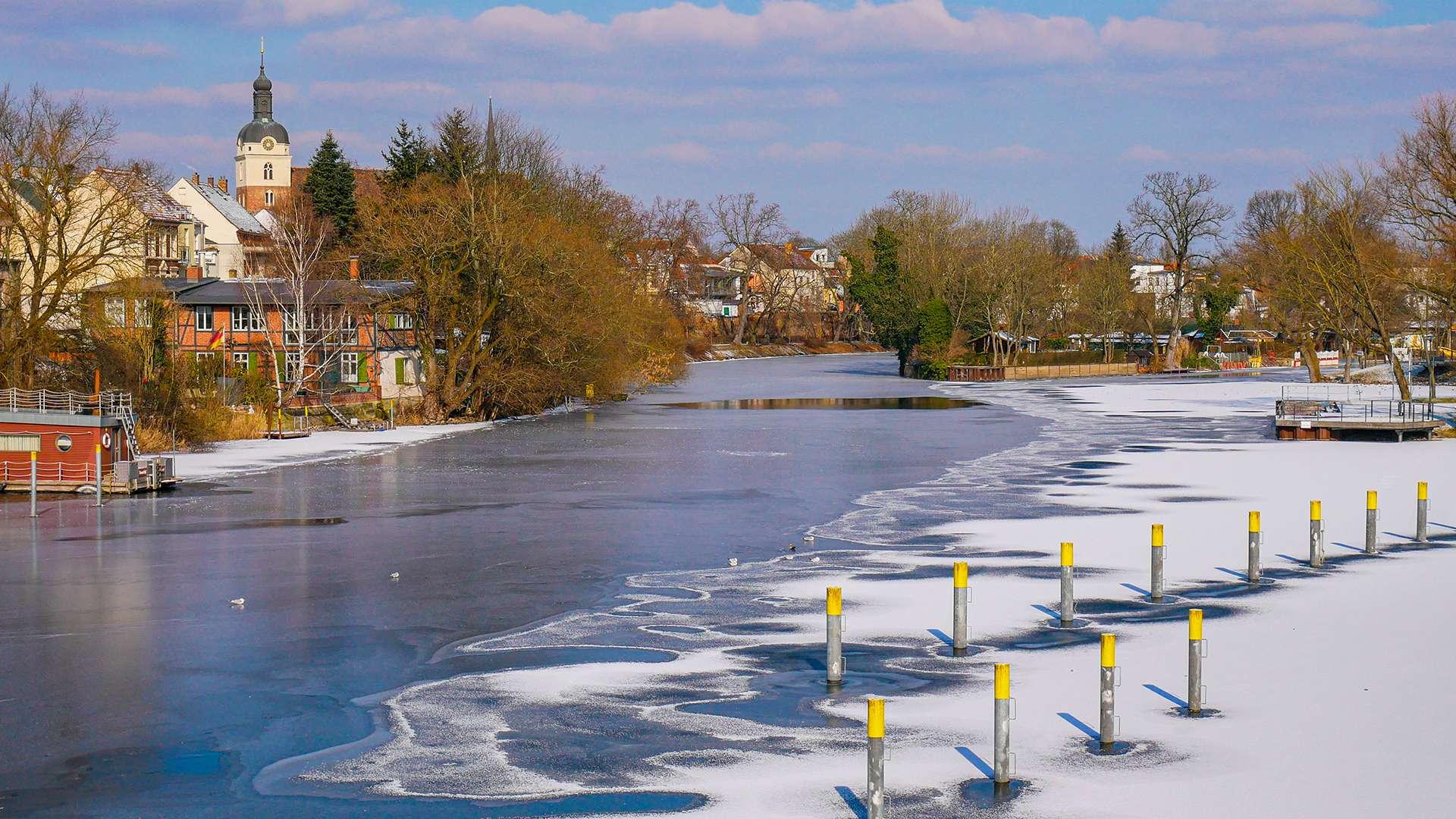 Winter in Brandenburg an der Havel