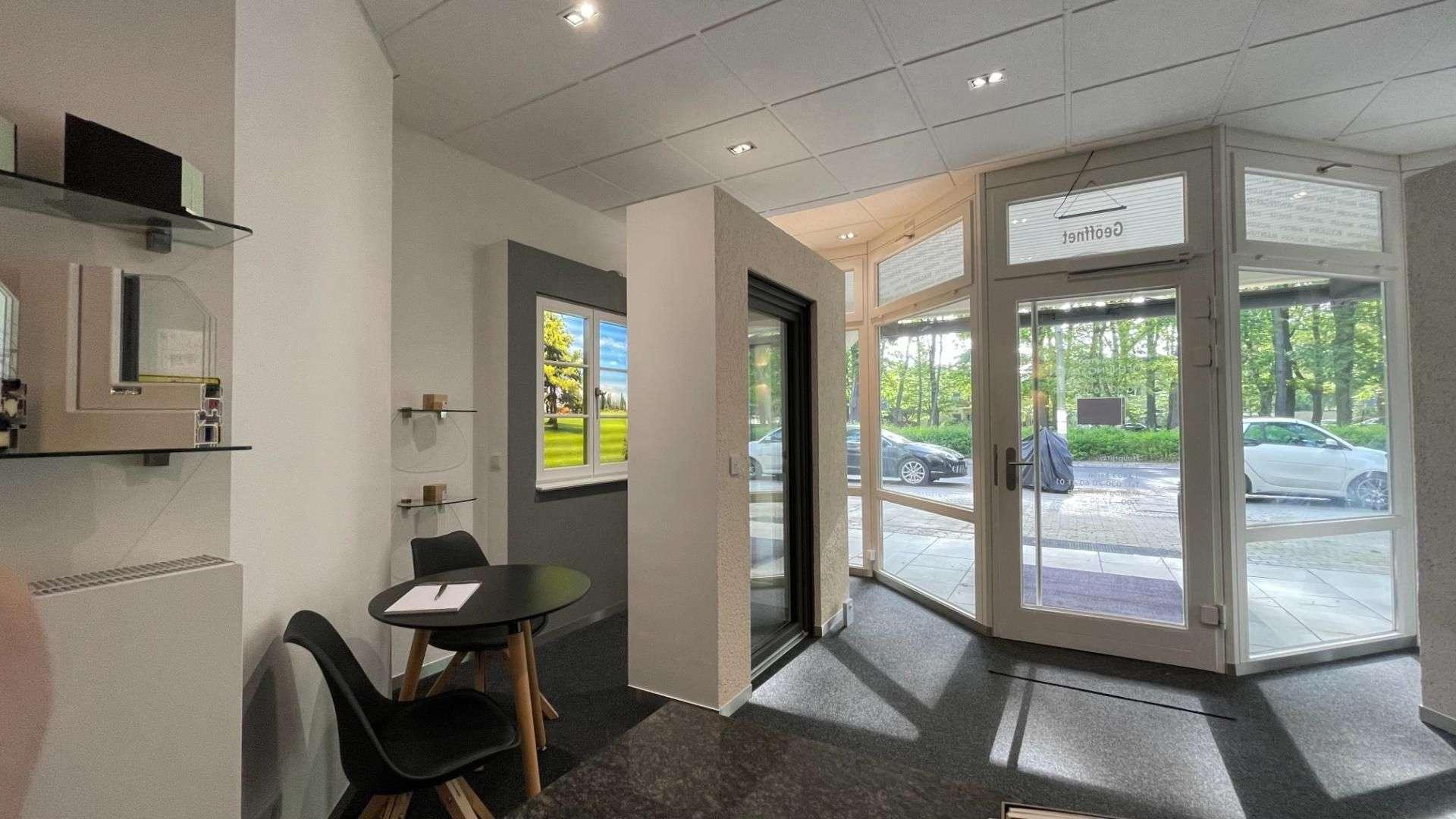 Innenansicht der Ausstellung von Fenster Durchblick in Berlin