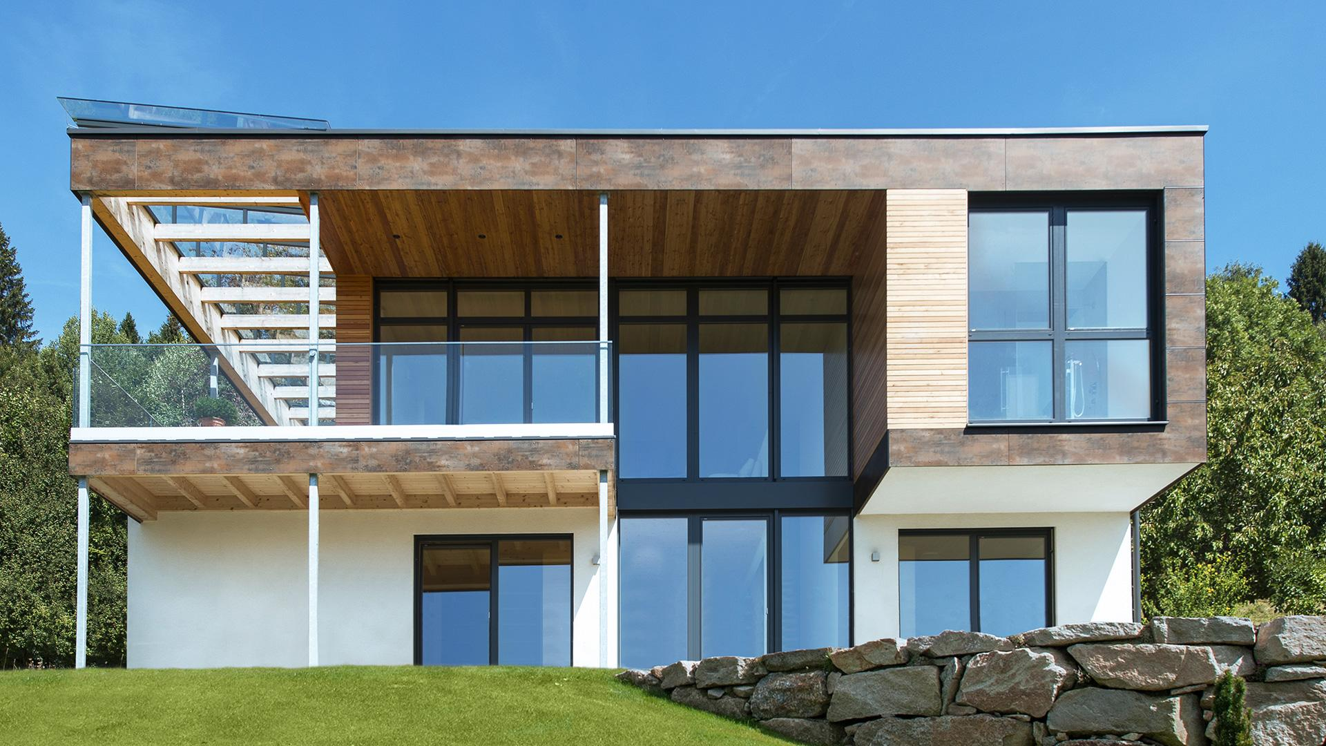 Fenster außenansicht haus  Linara GmbH - Terrassenüberdachung