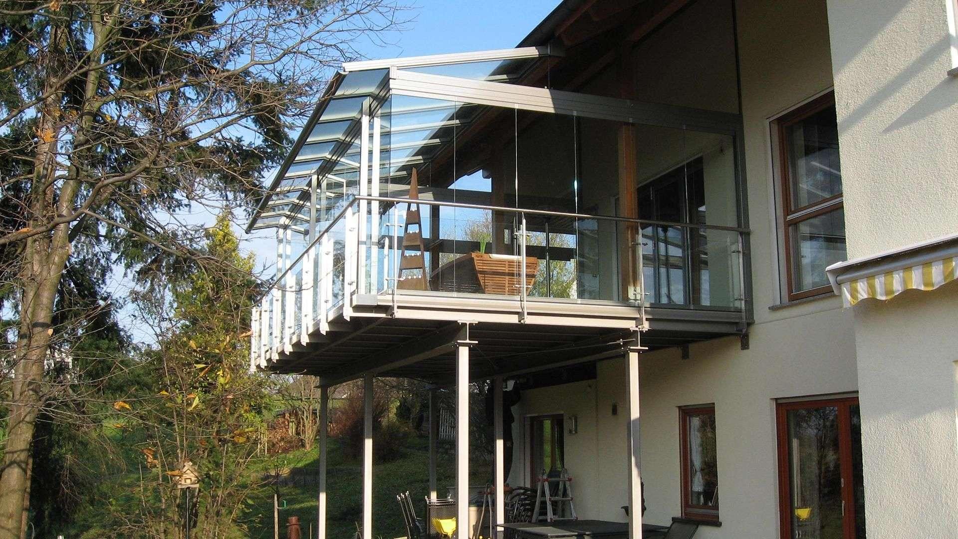 Gann & Raith Wintergarten Atrium-Glashaus