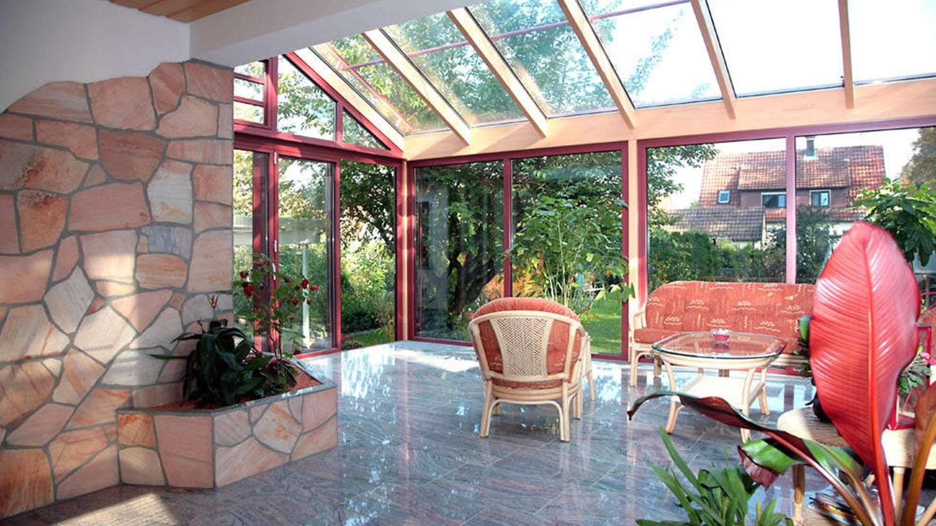 Gann & Raith Wintergarten Avantgarde Fichte natur