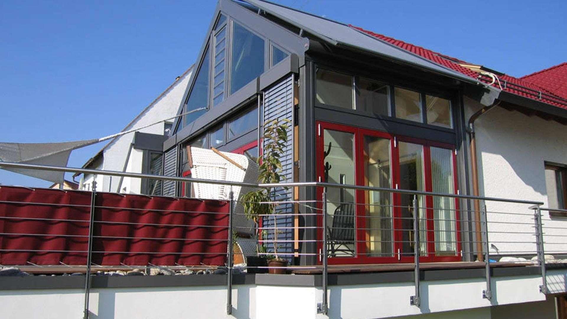 Gann & Raith Wintergarten Avantgarde Holz-Alu