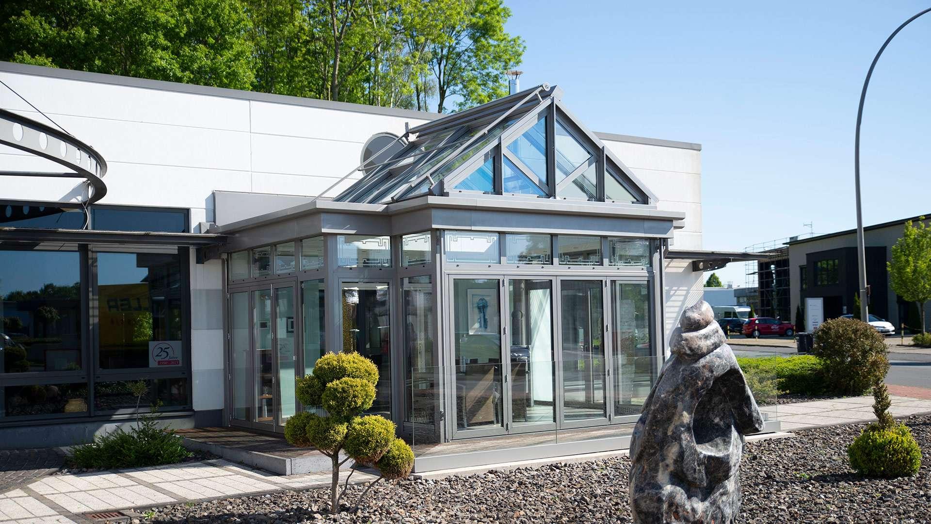 Wintergarten in der Außenausstellung von Linara Ahaus in Ahaus