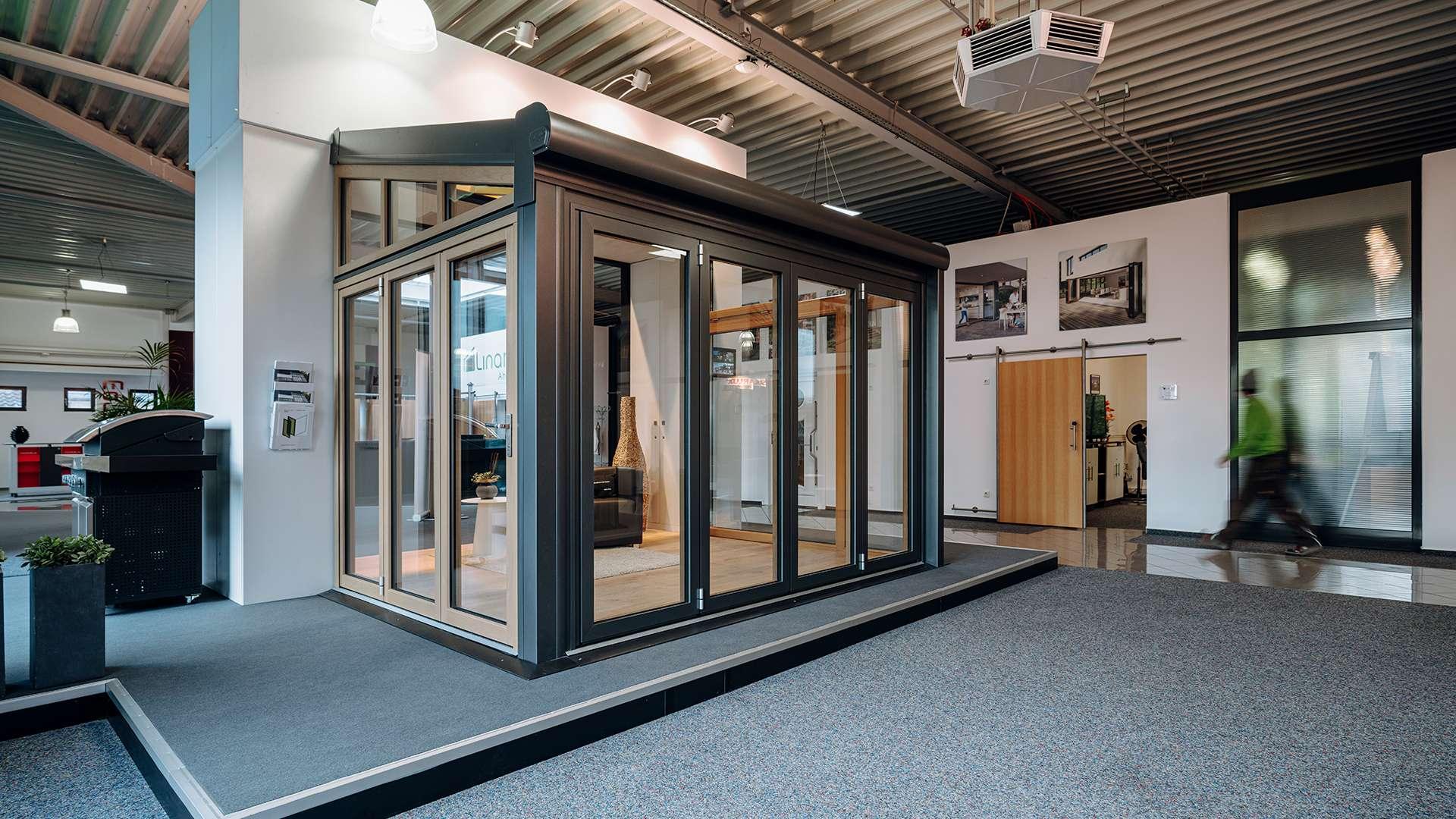 Wintergarten in der Ausstellung von Linara Ahaus in Ahaus