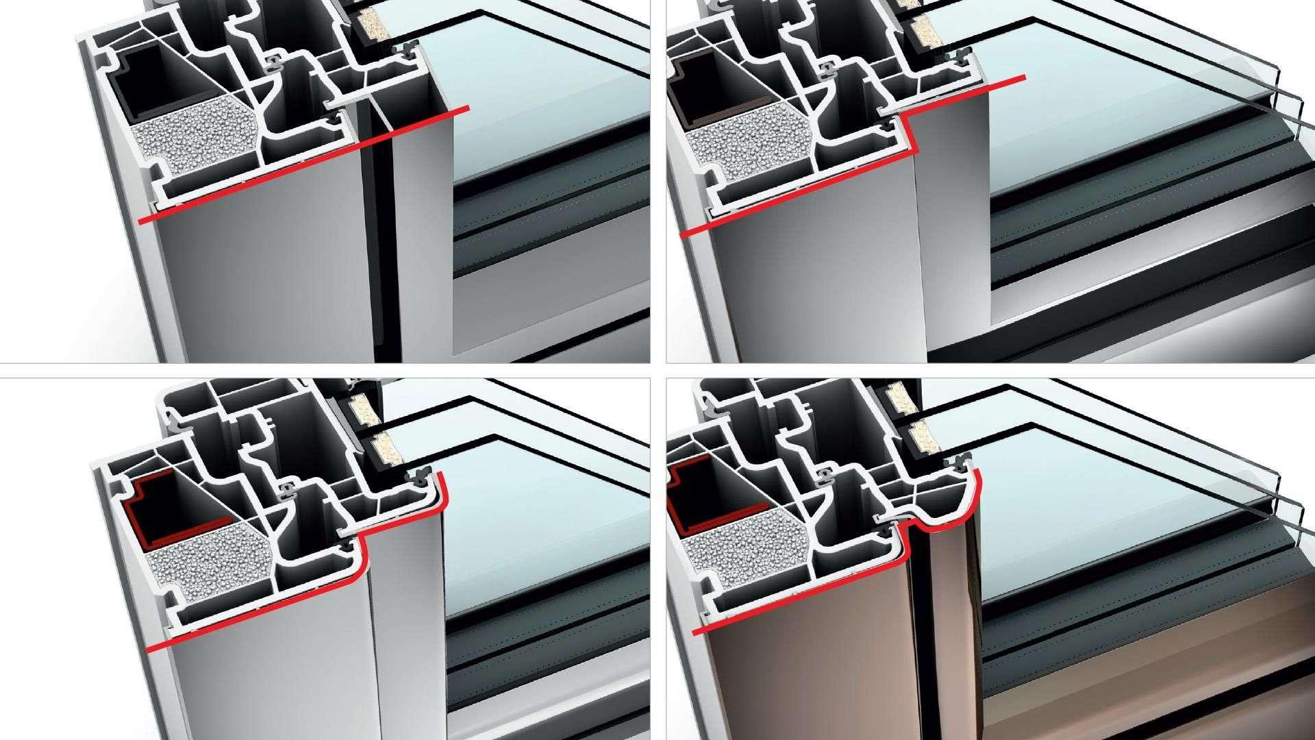 Linara Internorm Fenster KF 410