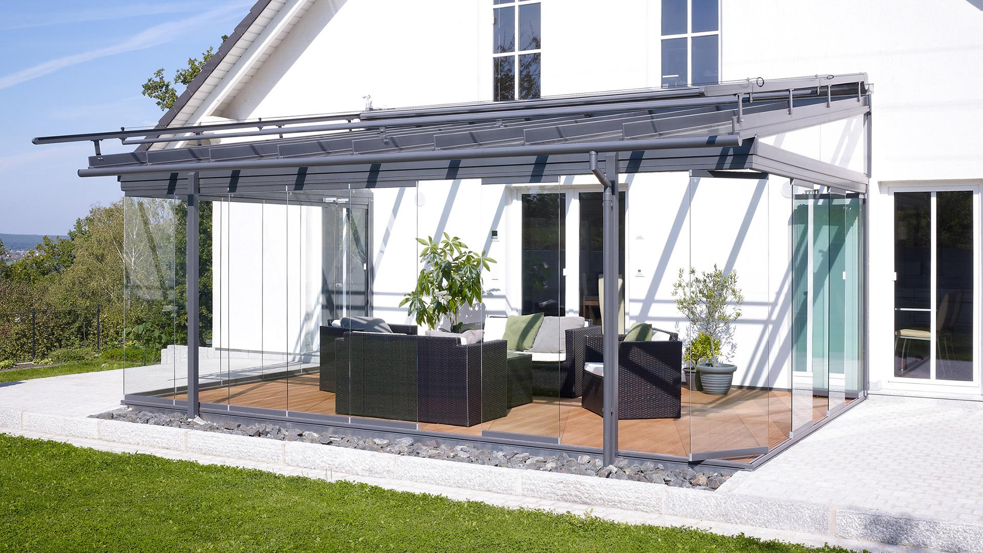 Linara Terrassendach zum Aktionspreis