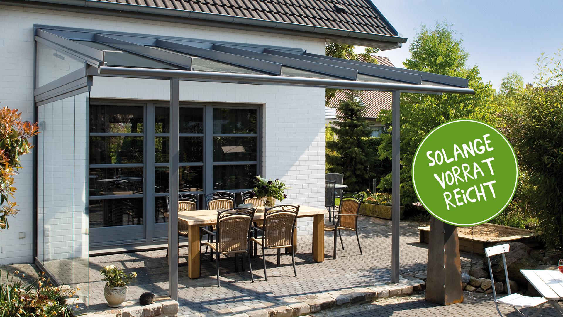 Linara Terrassenüberdachung zum Aktionspreis