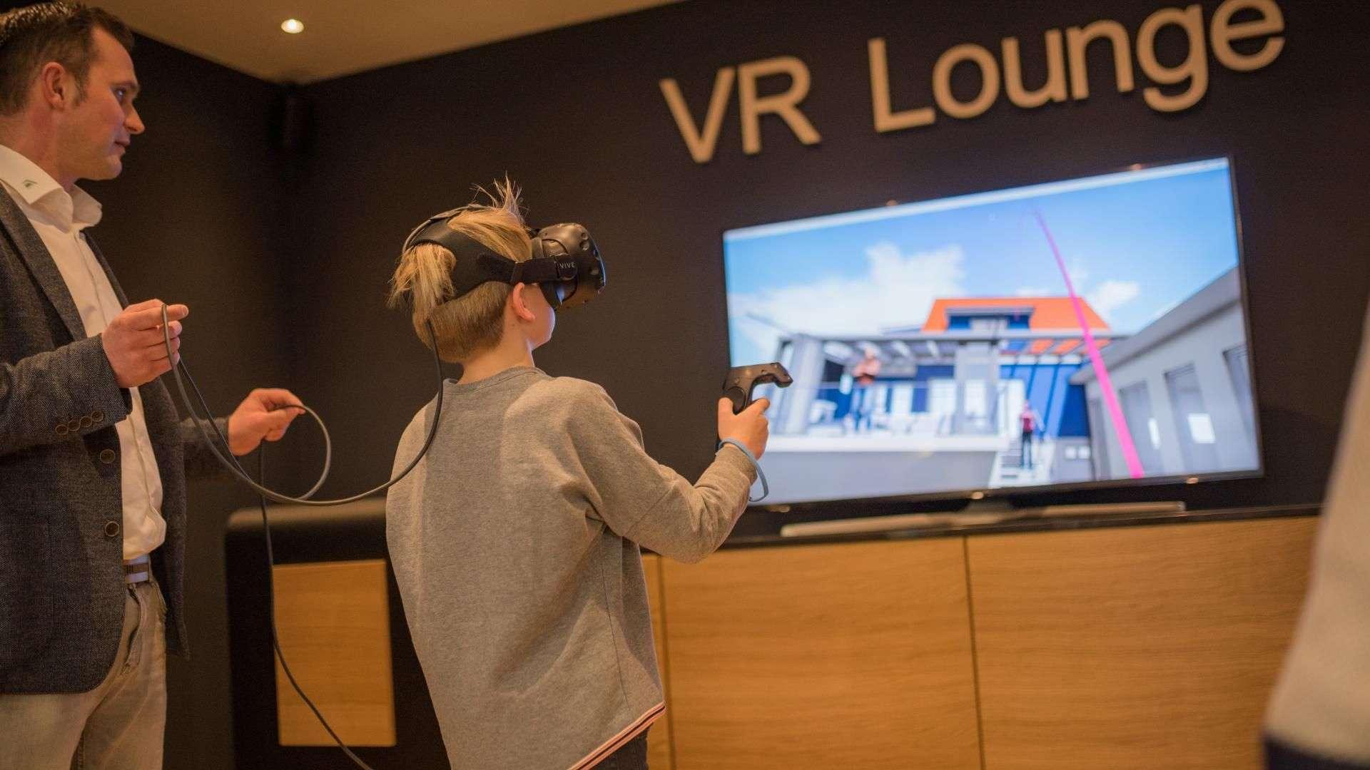VR Lounge in der Ausstellung von Linara in Kaufbeuren