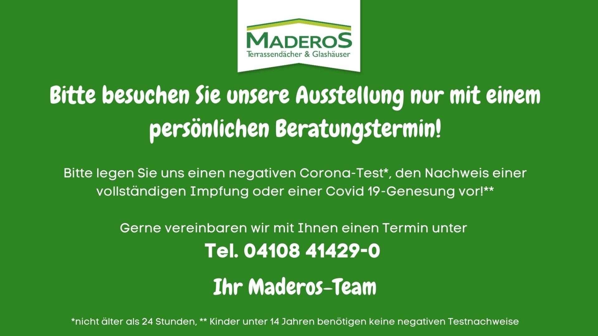 MADEROS Herzlich willkommen in unserer Ausstellung ...
