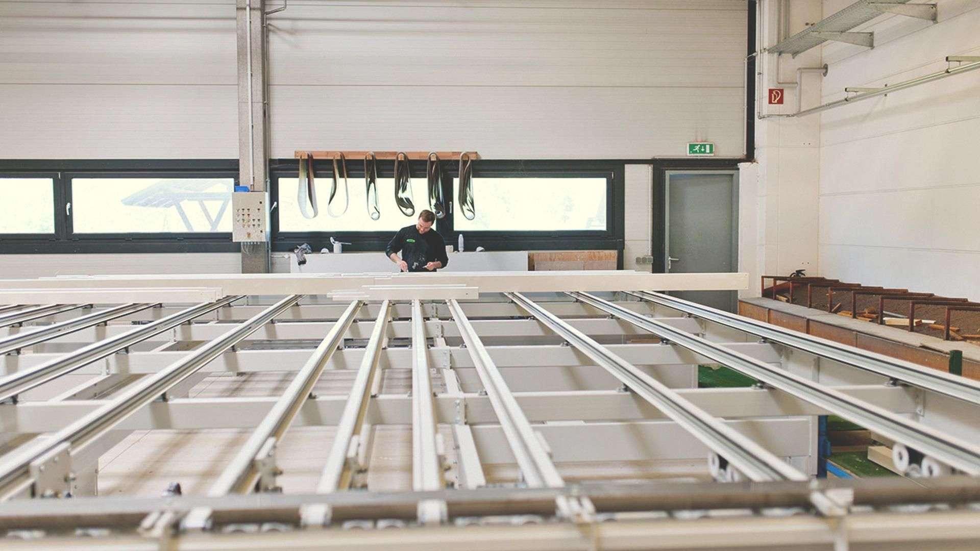 Blick in die Produktion von Maderos in Rosengarten/Nenndorf