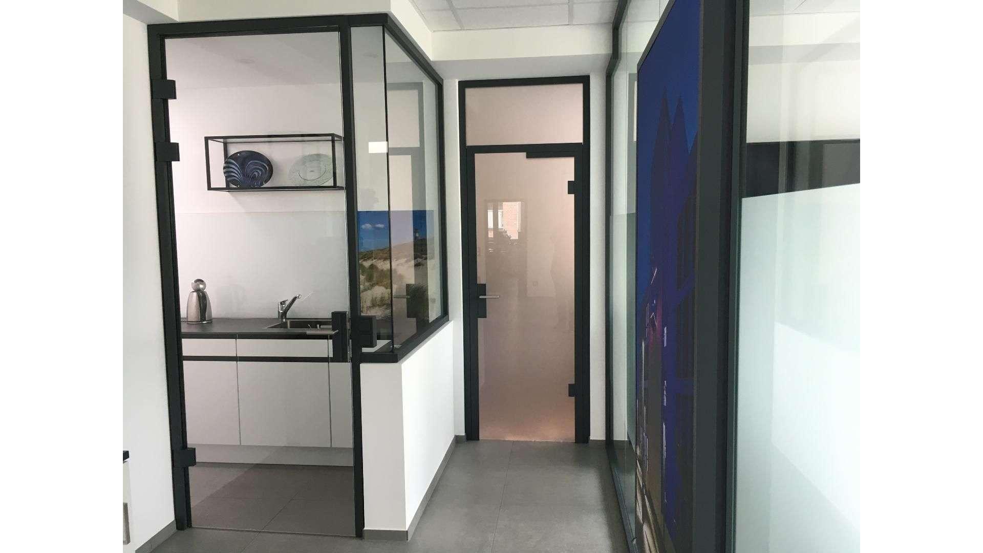 Flur in der Ausstellung von Menke-Glas in Bielefeld