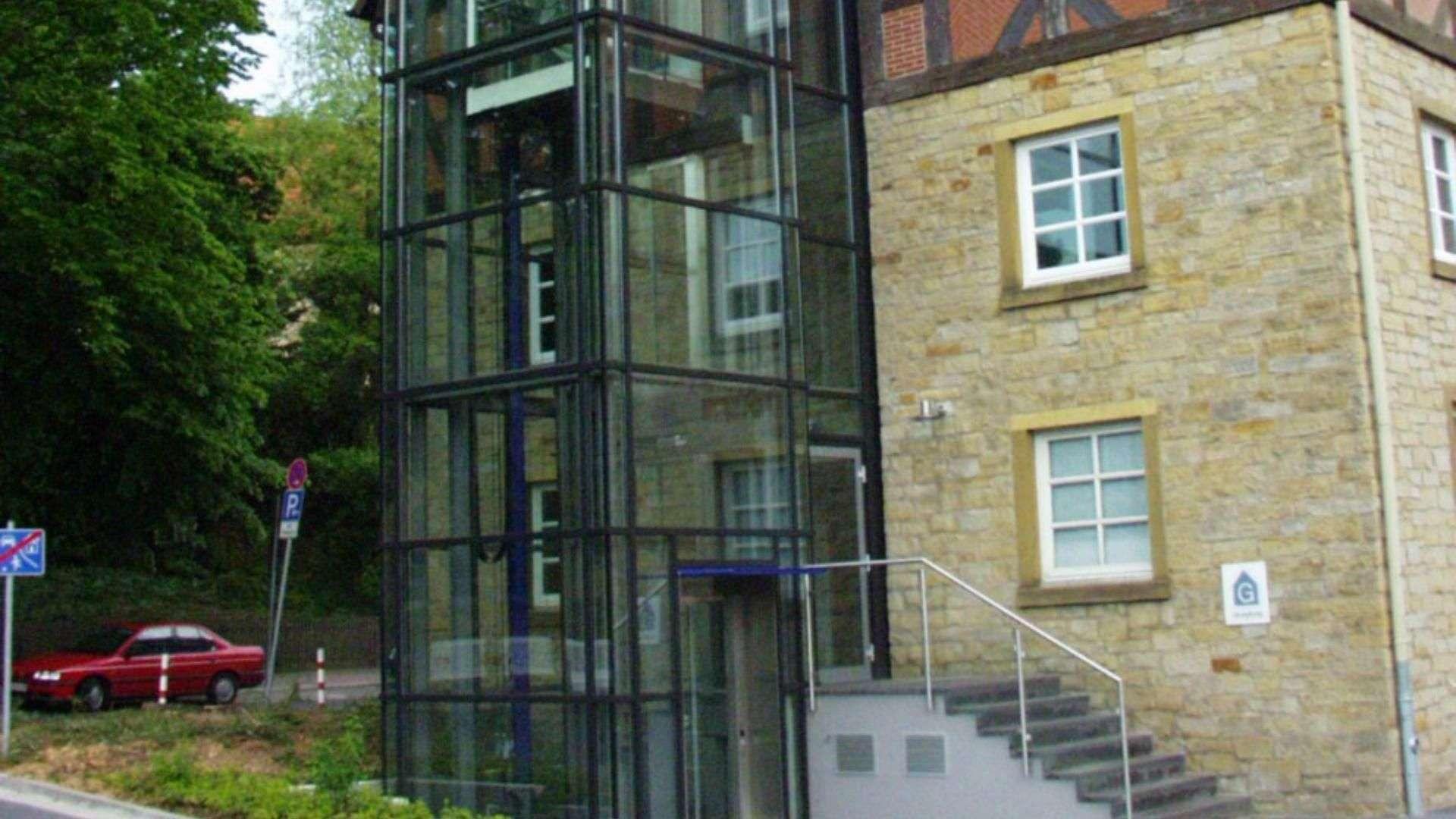 Menke Glasfassade