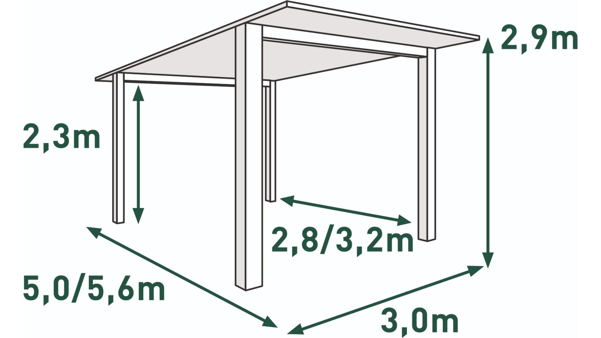 Single  mit einer Schneelast bis zu 100 kg/m³