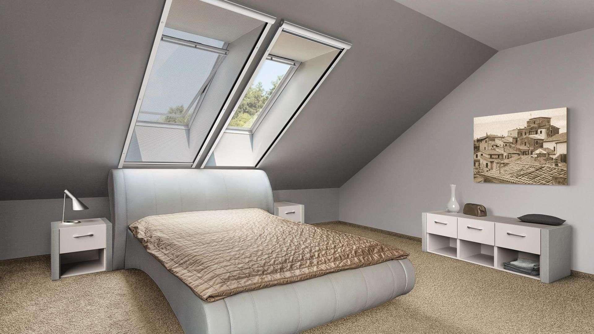 Sievers Perfekter Insektenschutz für Dachfenster