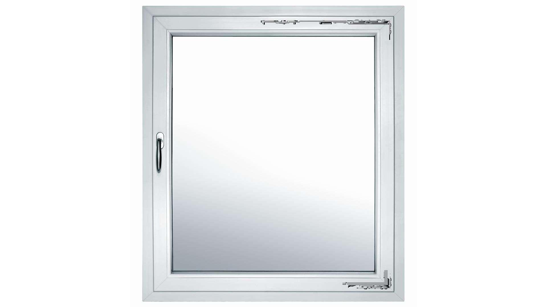 Fenster mit verdeckt liegendem Beschlag