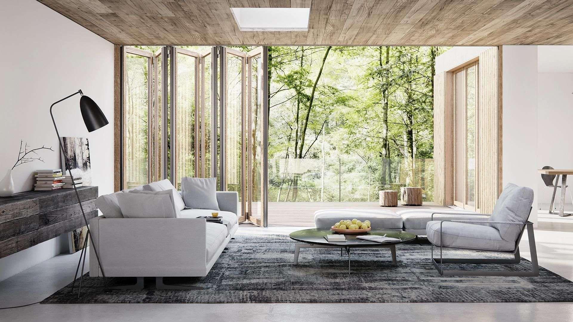 Solarlux Woodline - Die Glas-Faltwand
