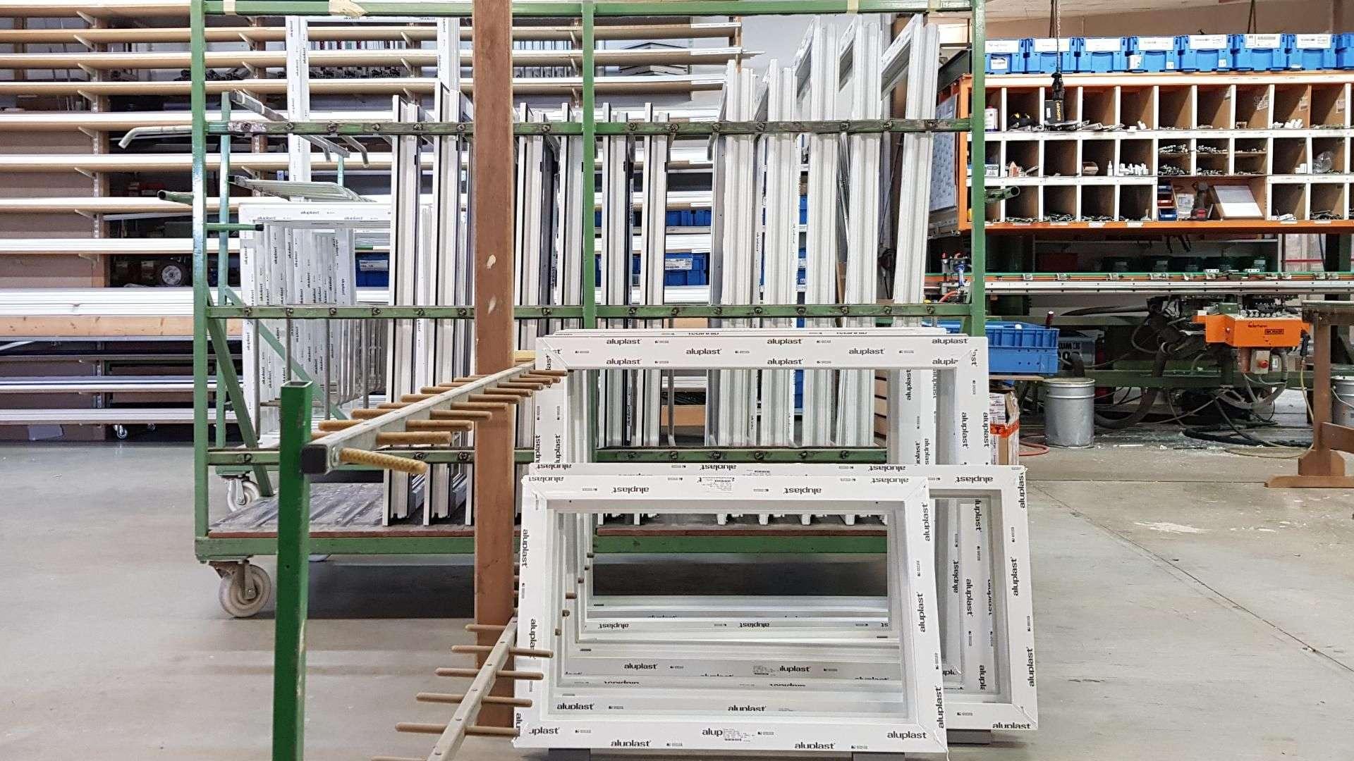 Fenstermanufaktur in der Produktion von Wessendorf in Ahaus-Alstätte
