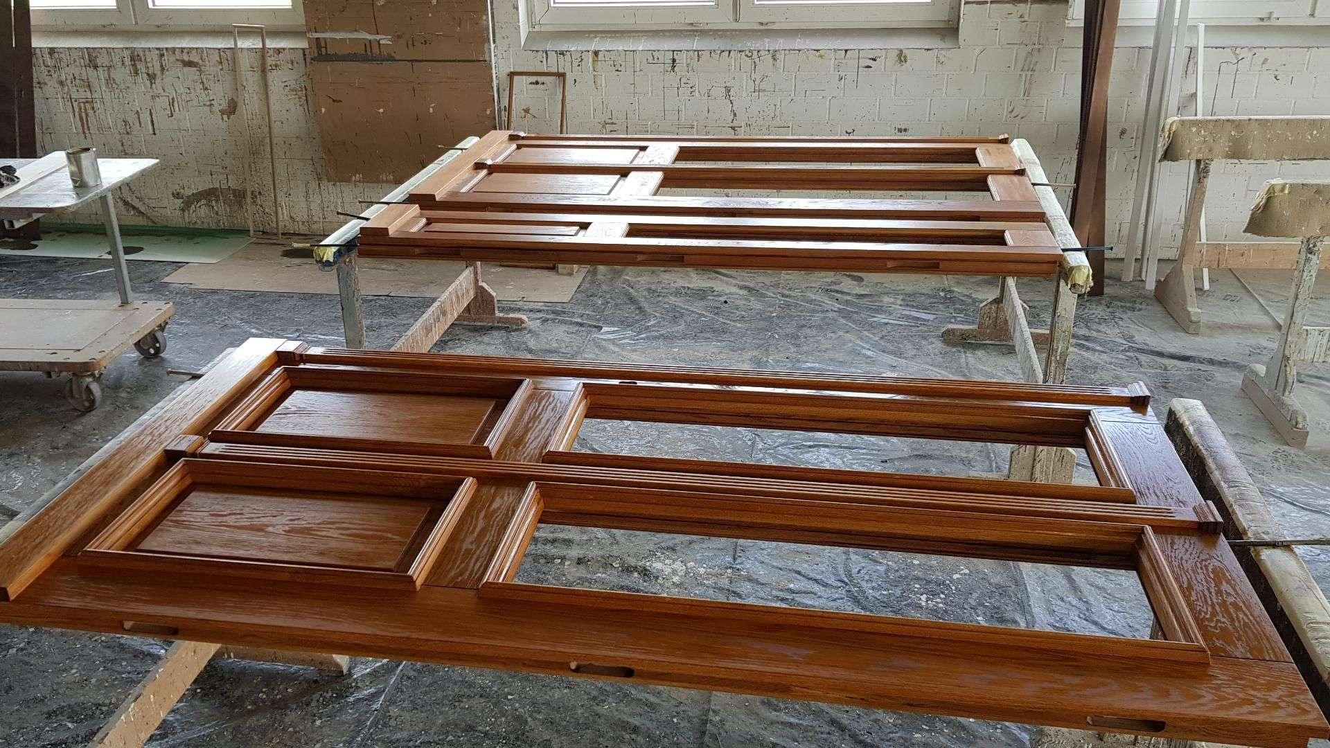 Haustürmanufaktur in der Produktion von Wessendorf in Ahaus-Alstätte